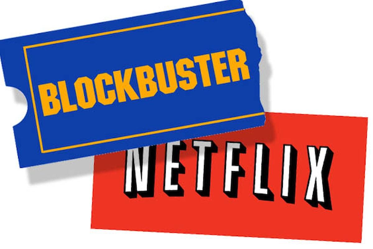 La pirateria, Netflix, BlockBuster e i contenuti on-demand