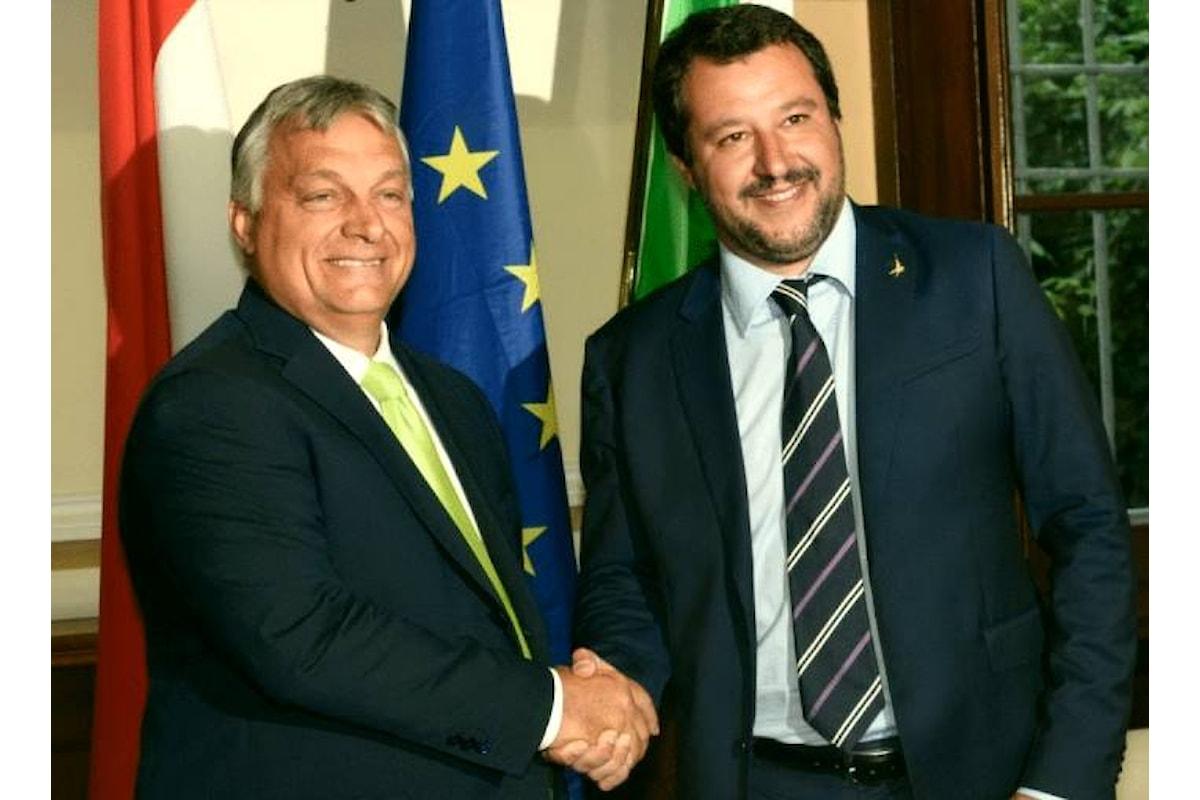 Gli ultimi due esempi della democrazia ungherese a cui aspirano Salvini e Meloni