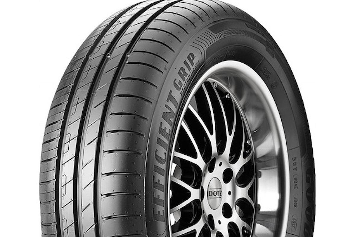 Goodyear presenta gli pneumatici per auto elettriche EfficientGrip Performance