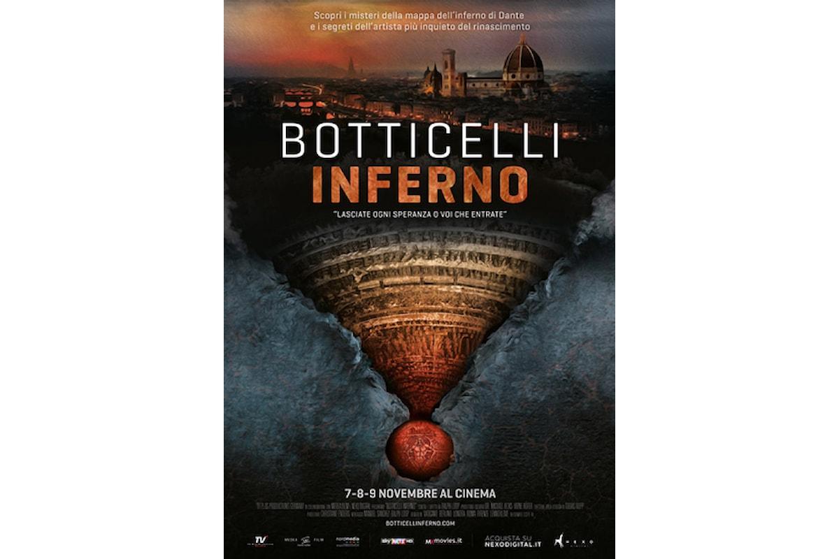 La grande arte torna al cinema con Botticelli - Inferno