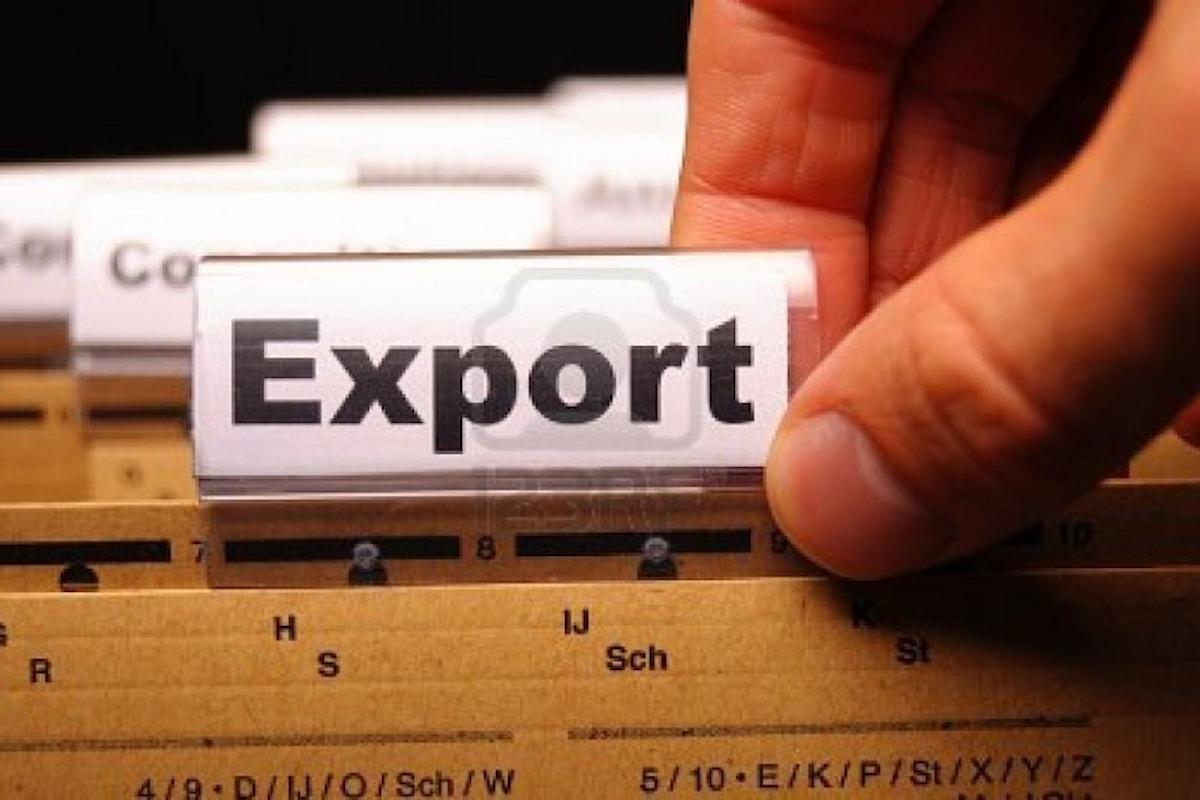 Cresce l'export in provincia di Salerno +5,2% nei primi 9 mesi del 2018