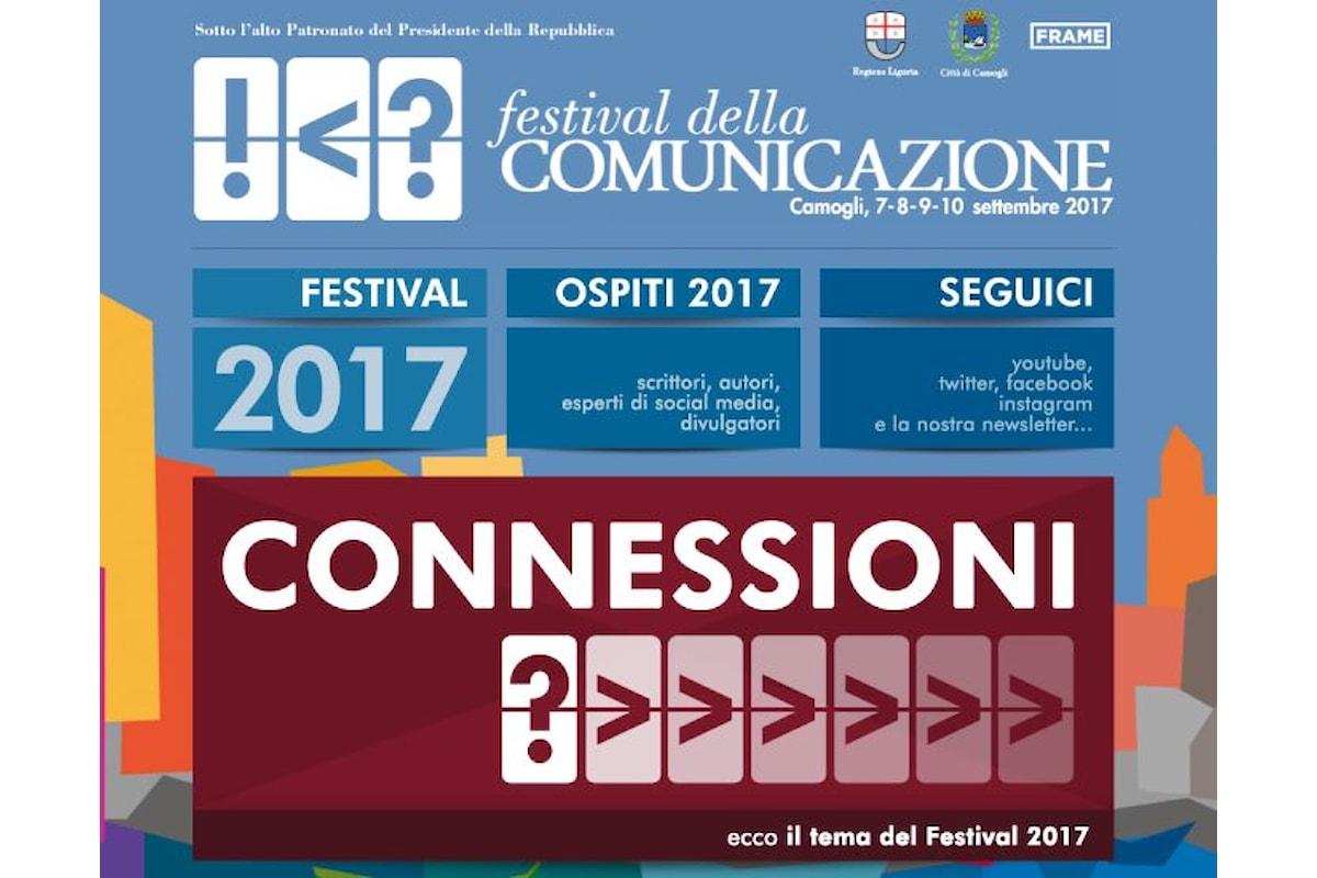 Dal 7 al 10 settembre la quarta edizione del Festival della Comunicazione di Camogli