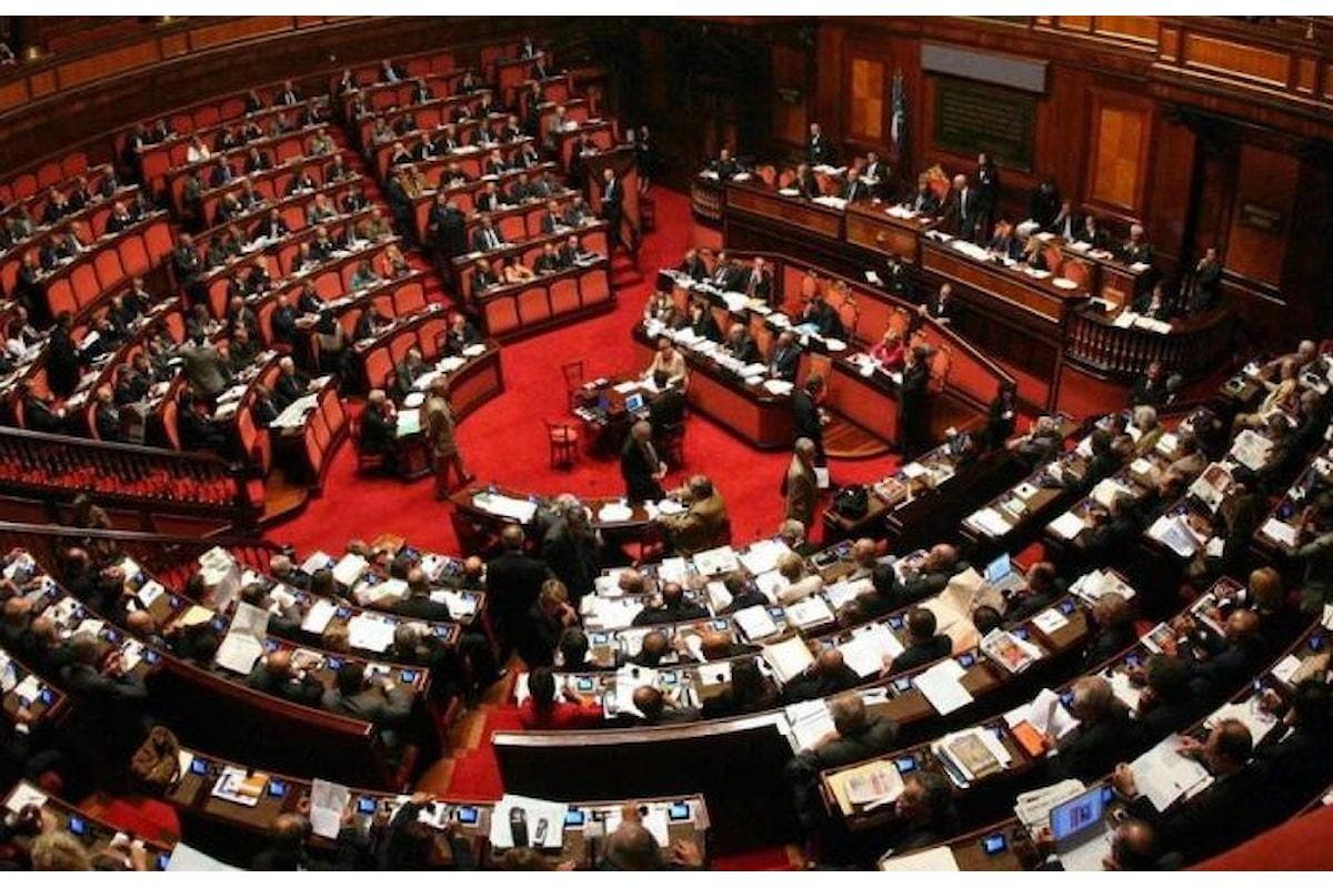 Costituiti i gruppi parlamentari alla Camera e al Senato