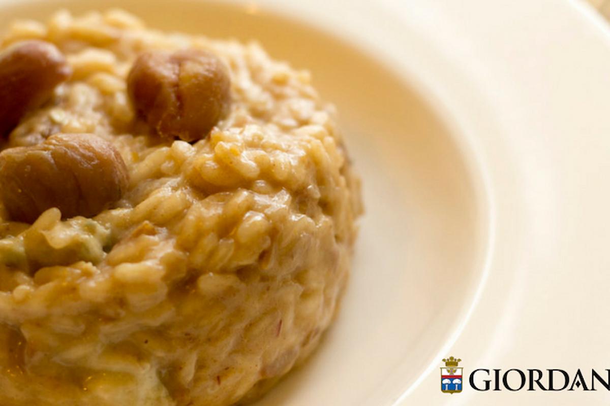 Gorgonzola e castagne: insolito abbinamento per un risotto Gourmet