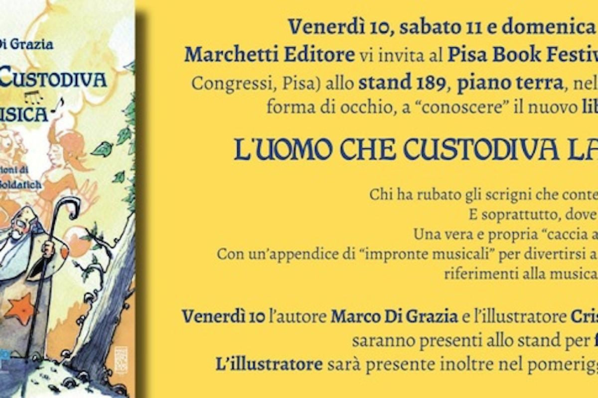Festival del Libro a Pisa con L'uomo che custodiva la musica