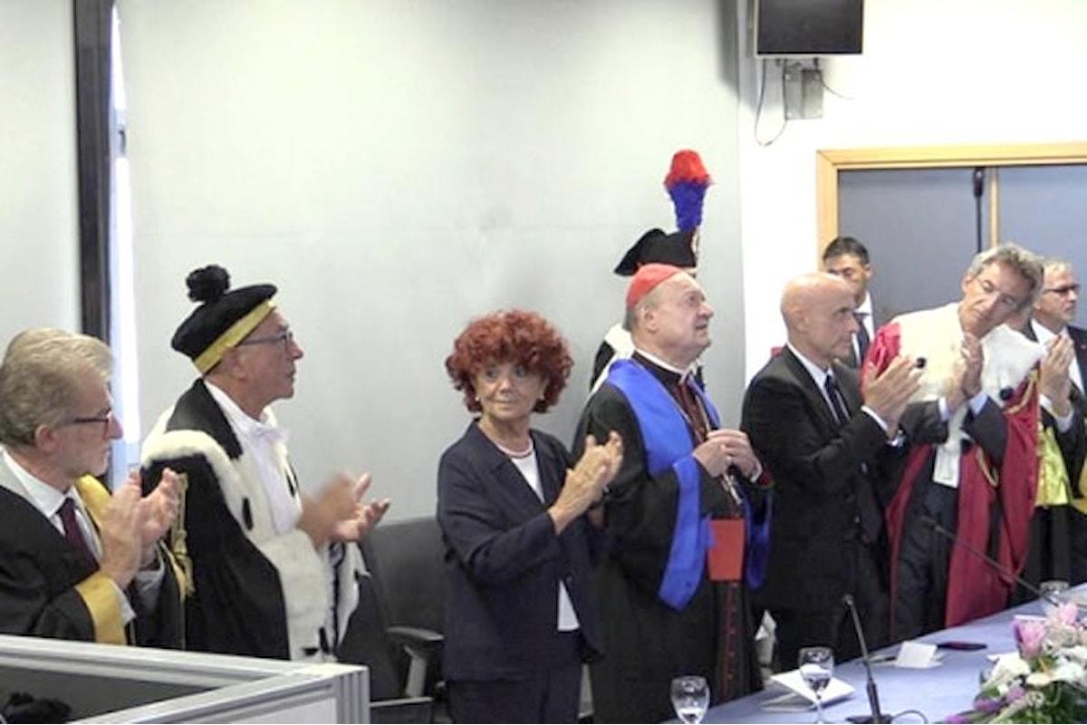 Il professorone Gianfranco Ravasi ha ricevuto la nona laurea honoris causa