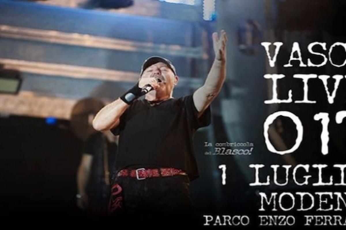 Vasco Rossi festeggia i suoi 40 anni di carriera