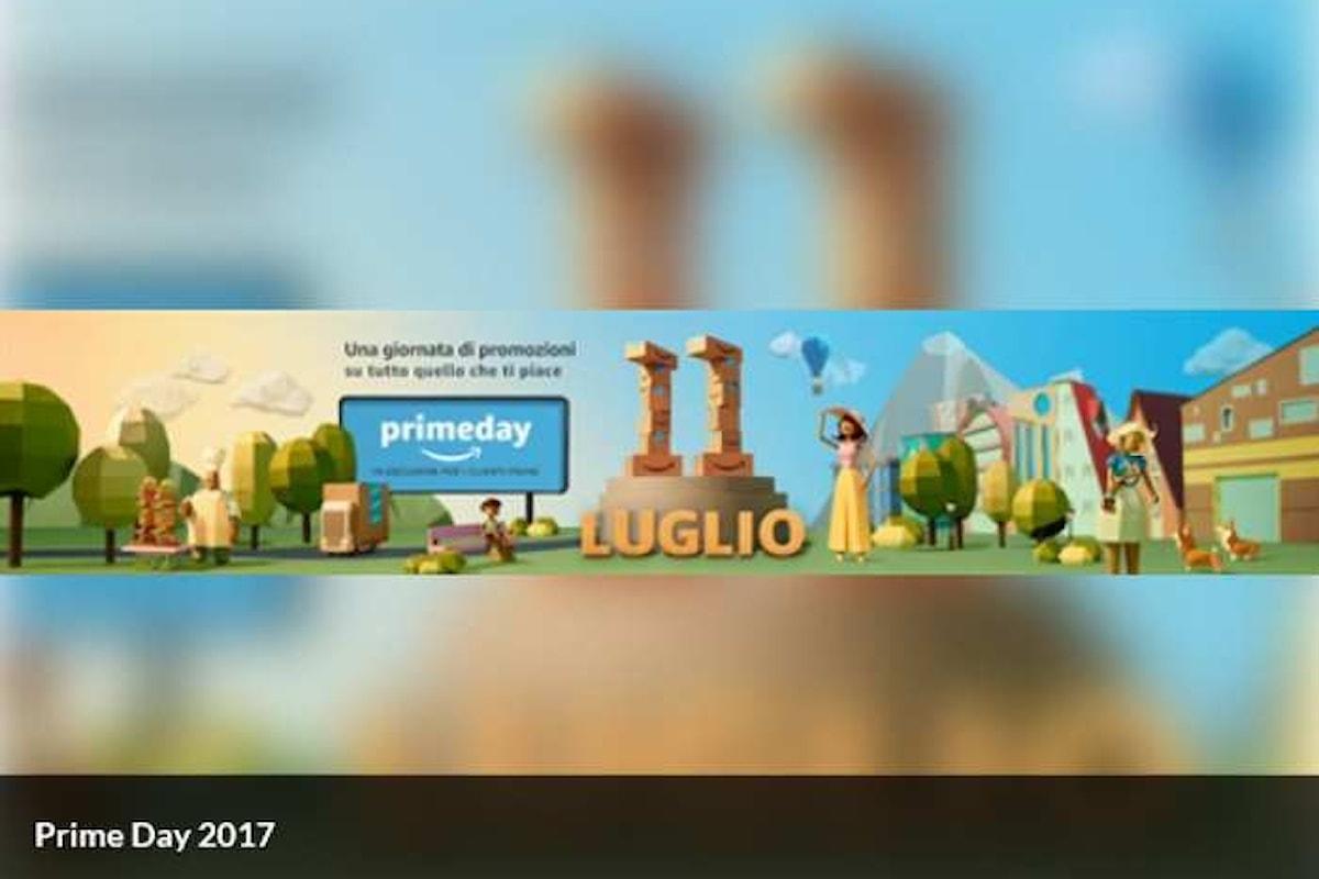 Durerà 30 ore il Prime Day 2017 di Amazon che inizia il 10 luglio alle ore 18