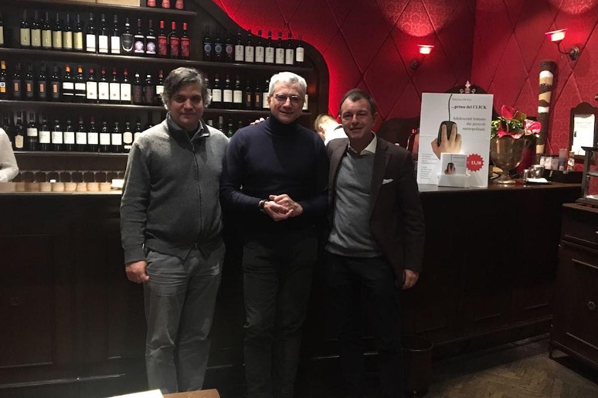 La presentazione di ...Prima del Click a Milano con l'autore Vincenzo De Feo