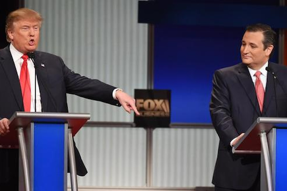 Primarie USA. Trump a Cruz: Non puoi essere eletto, sei nato in Canada