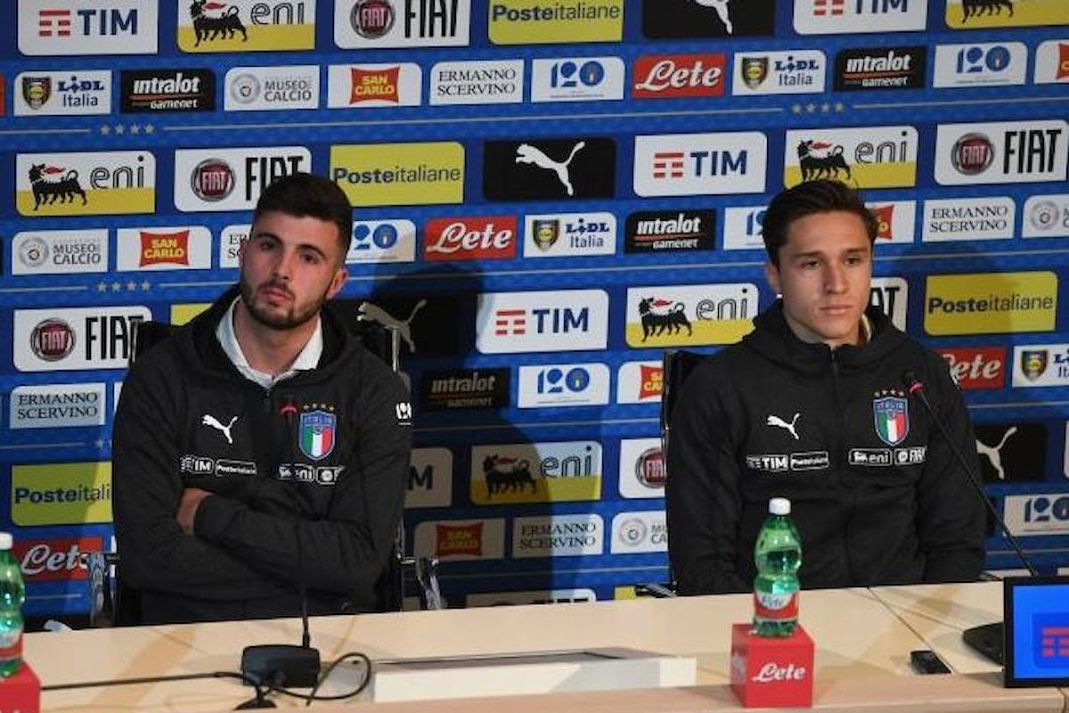 L'Italia del calcio riparte dall'Inghilterra. Chiesa e Cutrone i debuttanti