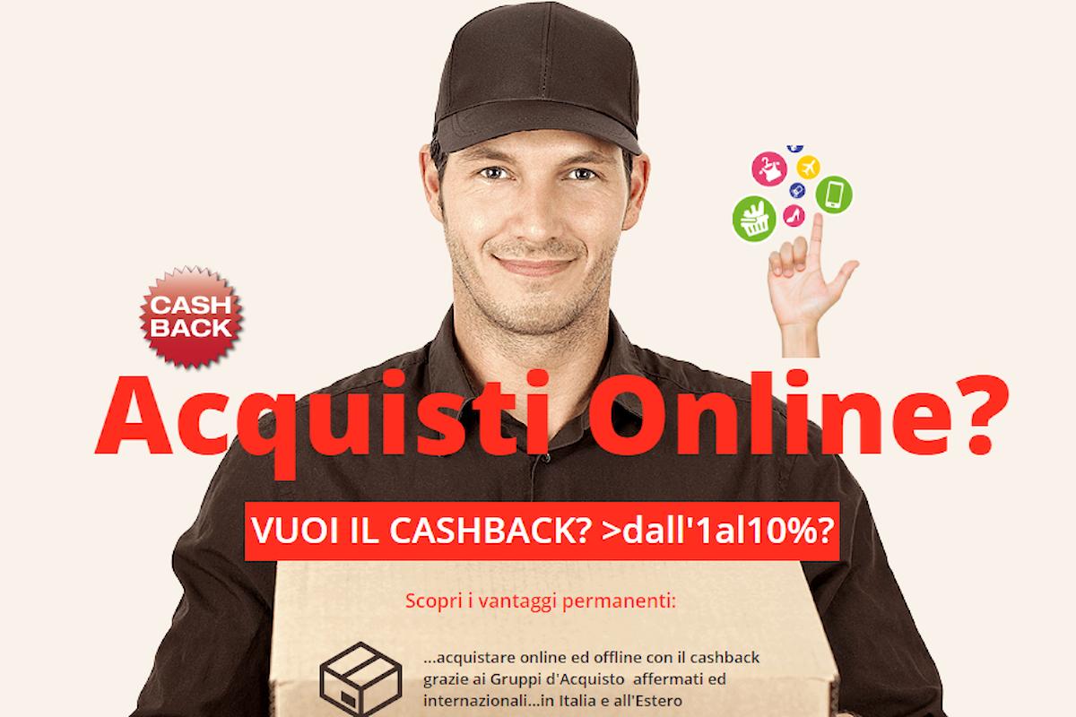 Acquisti online ed offline con Ritorno di Denaro grazie ai Gruppi d'Acquisto