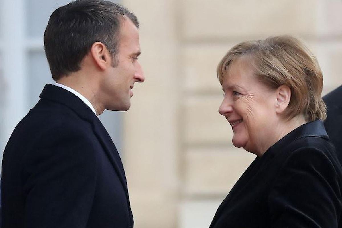Francia e Germania vogliono modificare il bilancio dell'Ue. La nuova proposta creerebbe grossi problemi all'Italia
