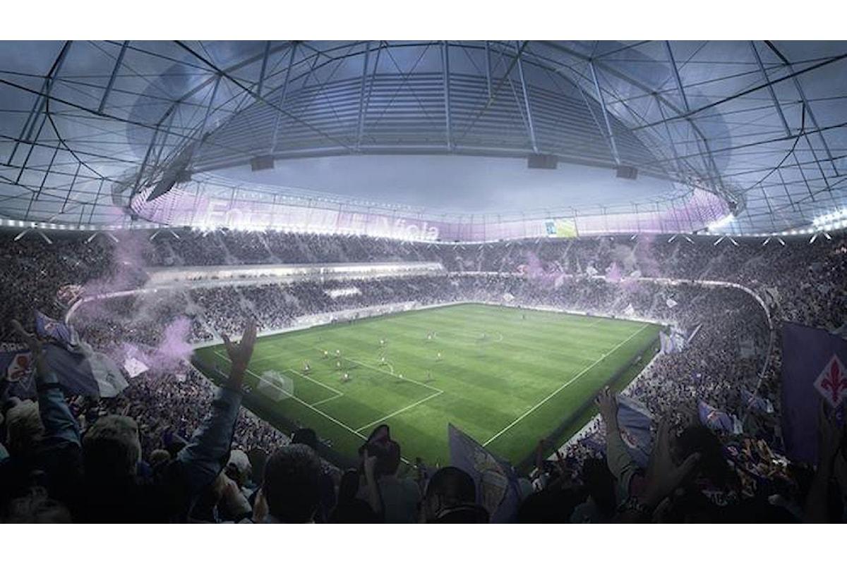 Il nuovo stadio della Fiorentina sempre più vicino con il Comune che dà il via libera al nuovo piano urbanistico dell'area di Castello