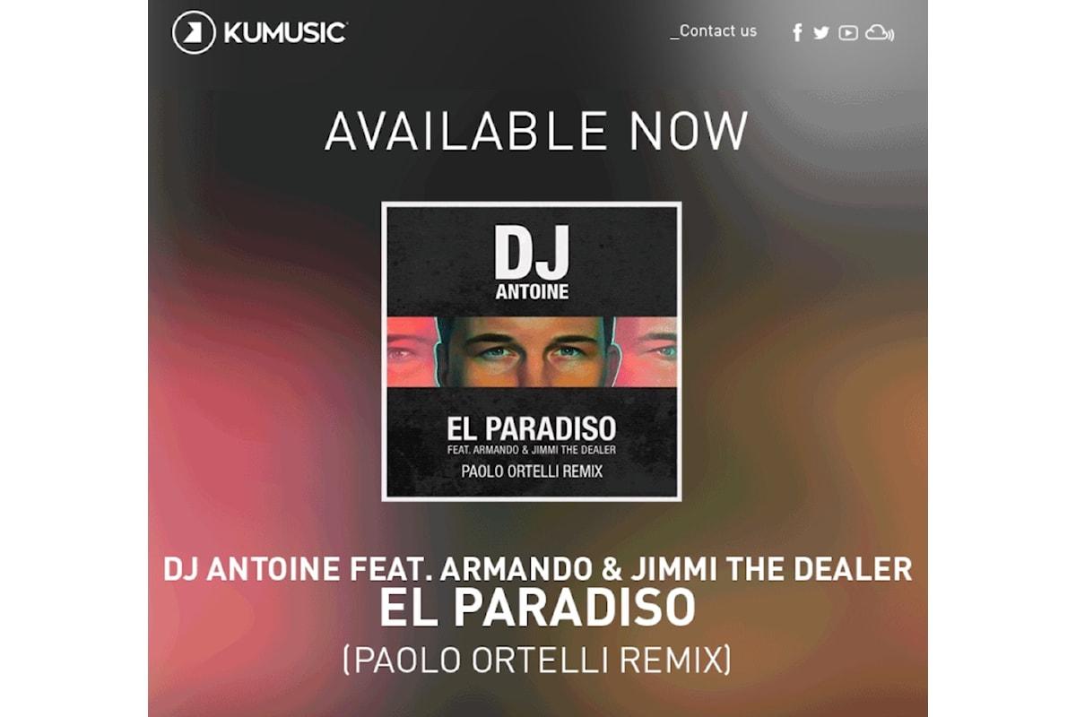 Paolo Ortelli remixa Dj Antoine El Paradiso (Kumusic)