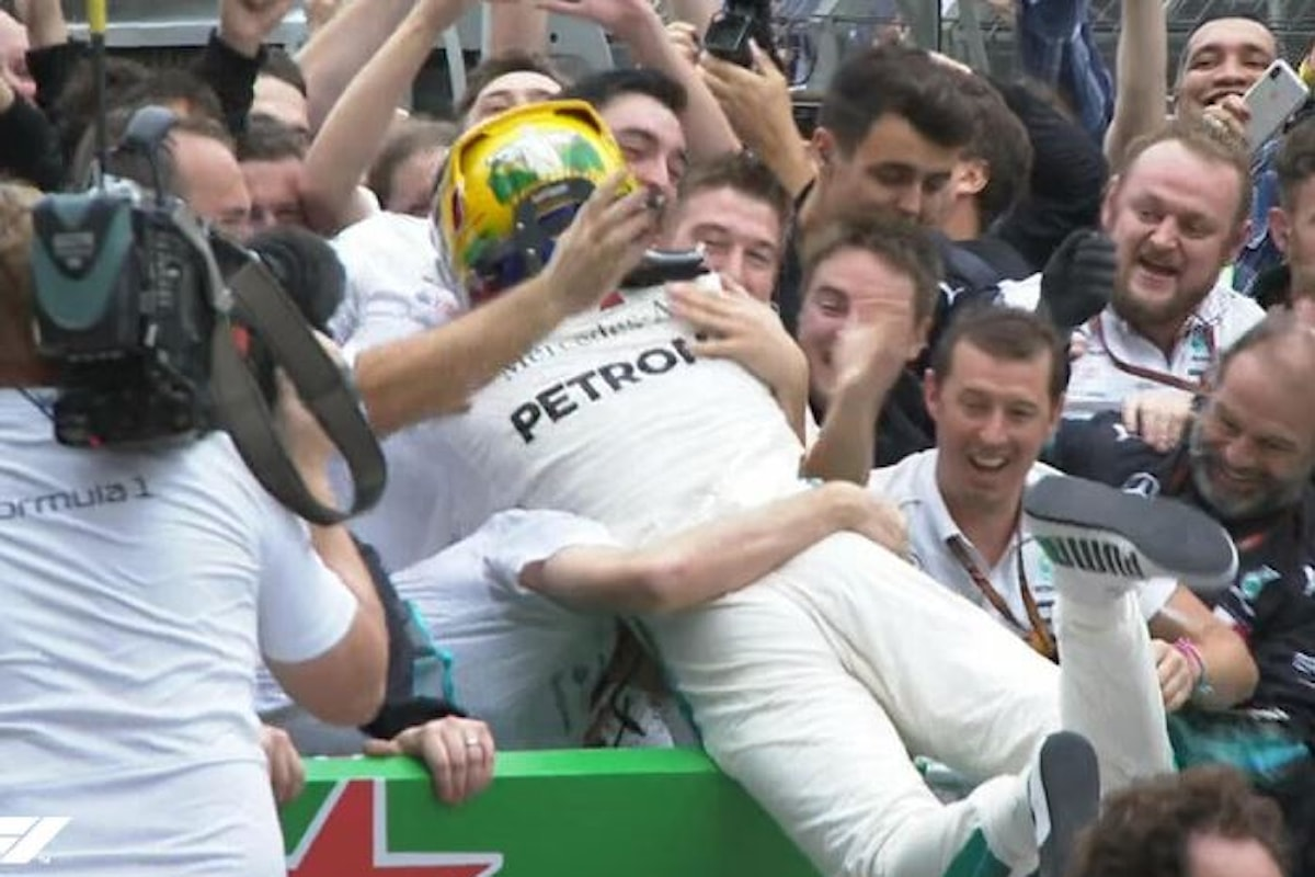 Formula 1, in Brasile è ancora Hamilton a tagliare per primo il traguardo