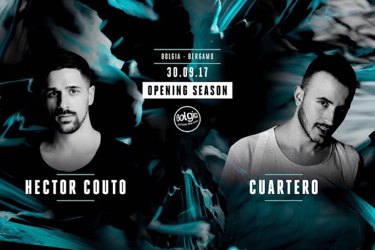 Bergamo, il 30 settembre Hector Couto & Cuartero aprono la stagione del Bolgia