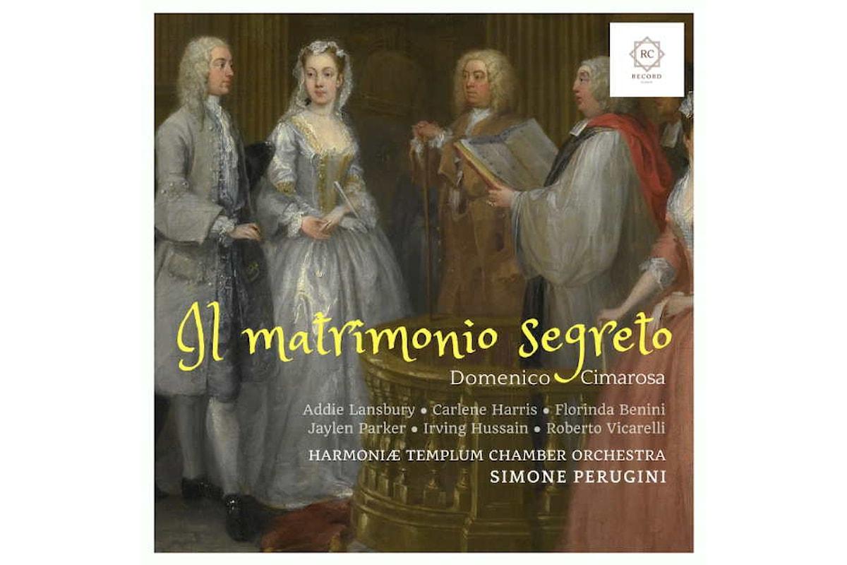 Simone Perugini, musicologo e direttore d'orchestra, parla della nuova release discografica de Il matrimonio segreto di Cimarosa