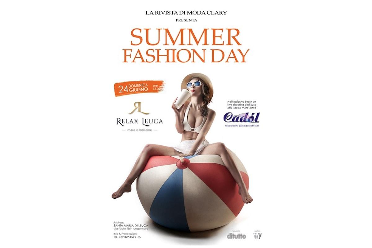 24 giugno, Fashion Summer Day by DiTUTTO al Relax Leuca