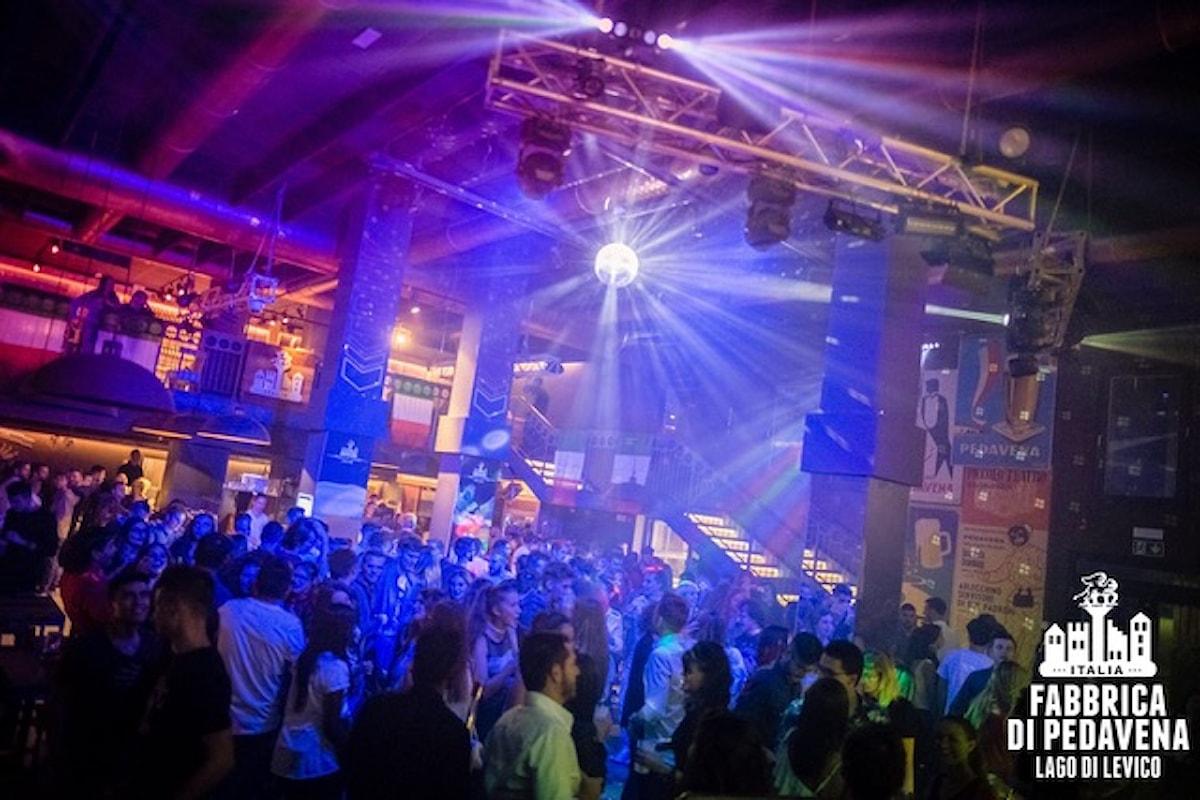 Fabbrica di Pedavena - Levico Terme (TN): il capodanno è… Doppio: Reggaeton di S. Silvestro o 100% #Ignorant Party. E tutti i party dal 15 al 31 dicembre 2017