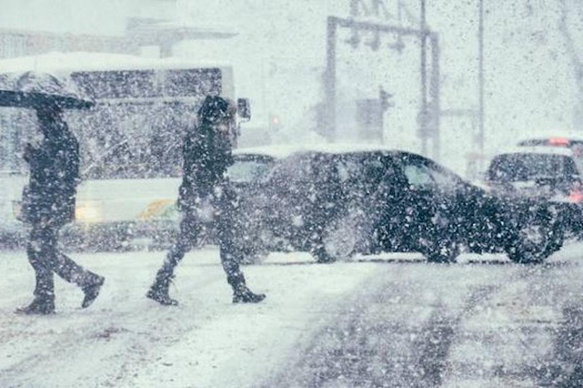 Allerta meteo Campania giovedì 22 marzo: neve al di sotto dei 600 metri