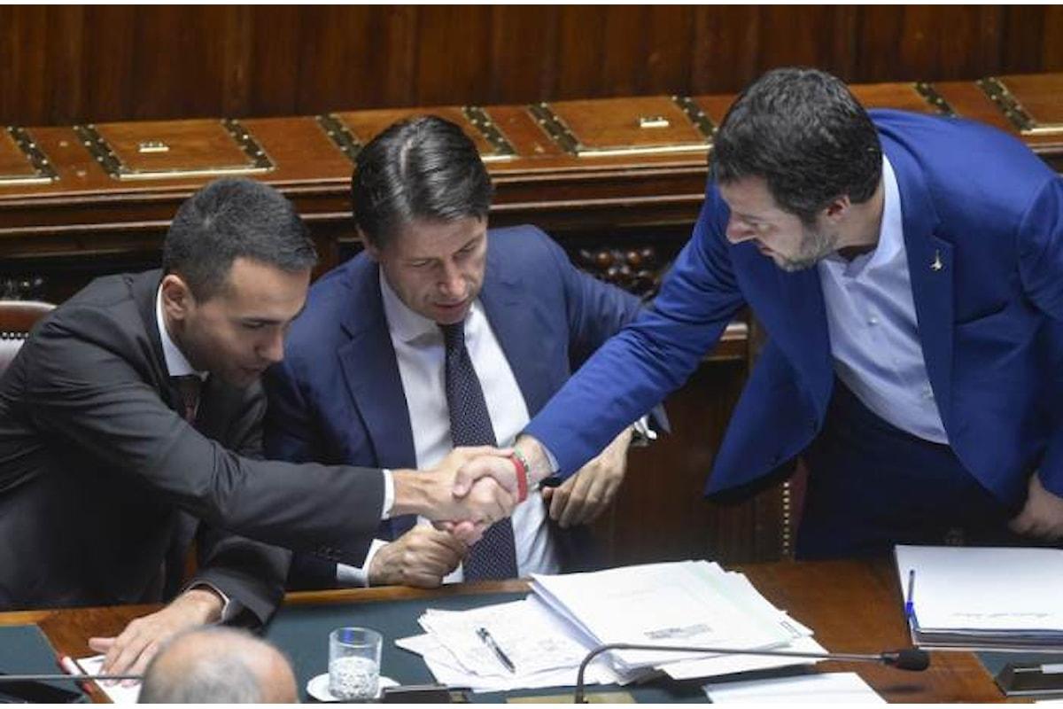 Ecco, secondo Di Maio, Conte e Salvini, che cosa è accaduto nel CdM che ha approvato la manovra del popolo