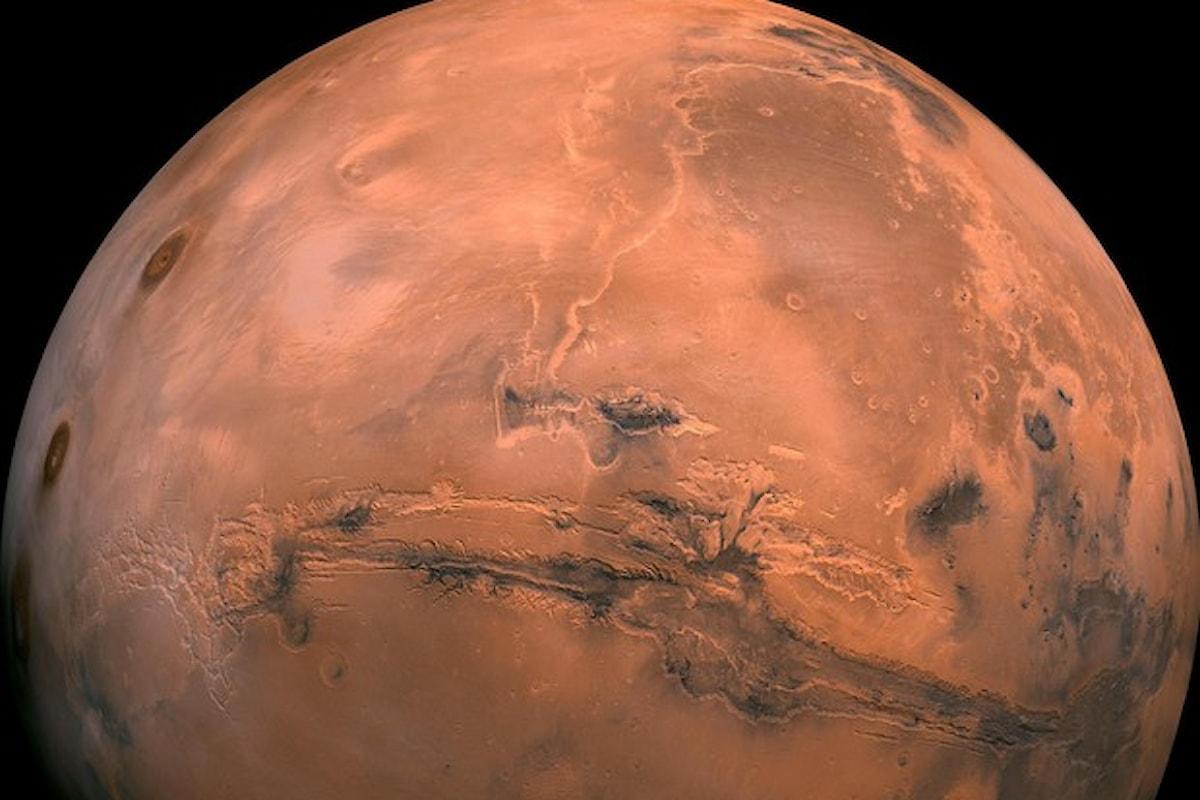 Ossigeno su Marte sufficiente per microbi e spugne