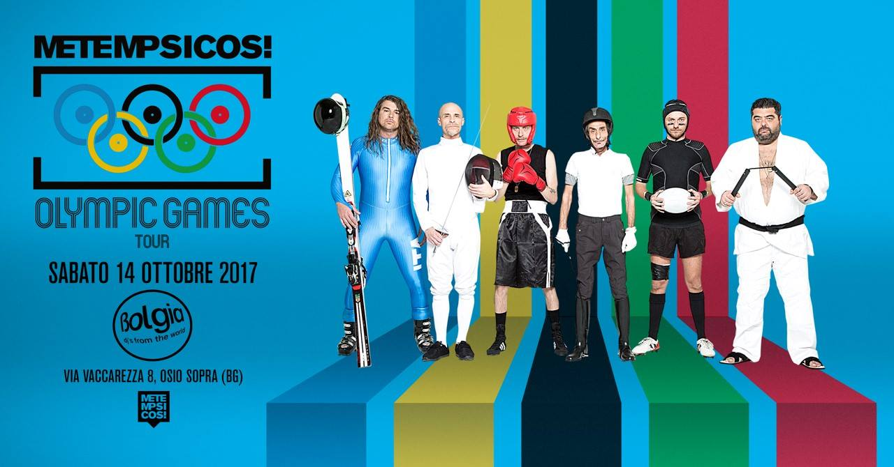 Bergamo. 14 ottobre, Metempsicosi - Olympic Games Tour al Bolgia