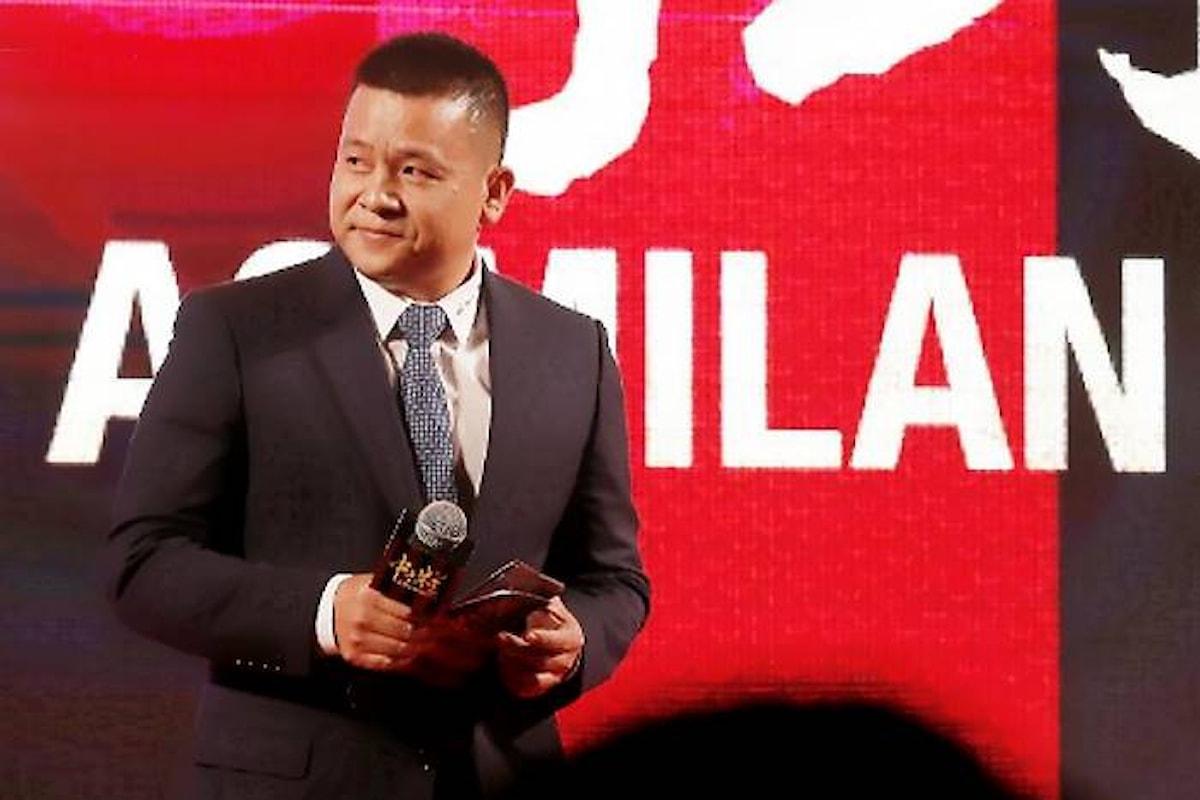 Continuano le difficoltà finanziarie di Yonghong Li ed il Milan diventa sempre più americano e meno cinese