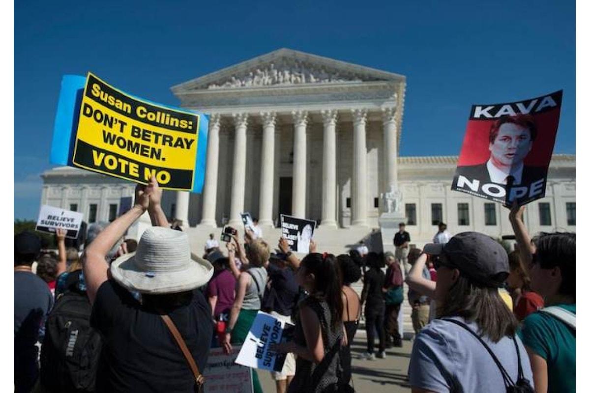 Il Senato Usa si esprime a favore di Kavanaugh che alla prossima votazione potrebbe essere eletto giudice della Corte Suprema