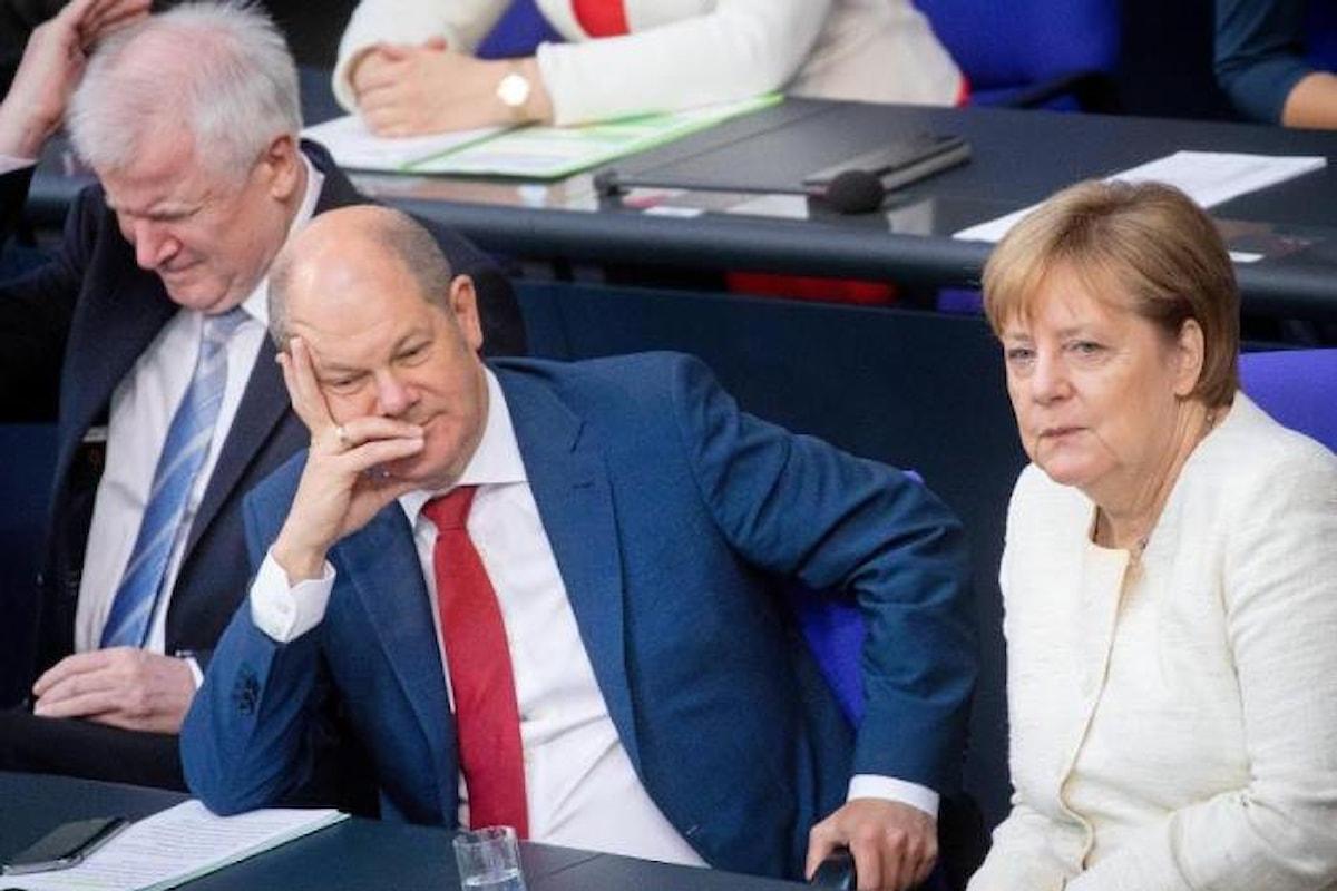 In Germania la coalizione di governo ha firmato un accordo, al ribasso, sul tema migranti