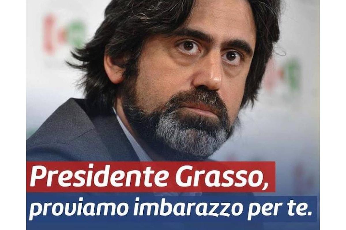 Bonifazi chiede a Grasso i soldi per il Pd, ma si dimentica di chiederli anche a Renzi