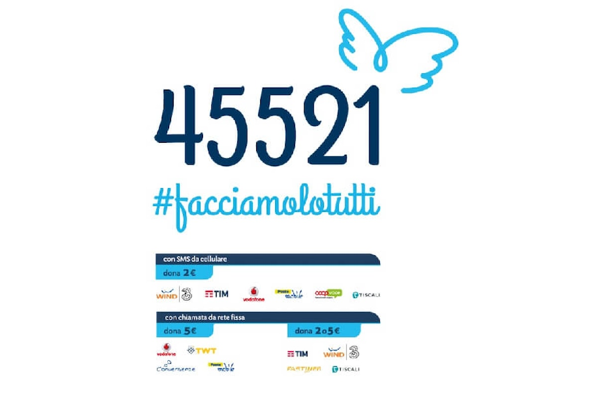 #facciamolotutti l'hashtag per la raccolta fondi Famiglie SMA