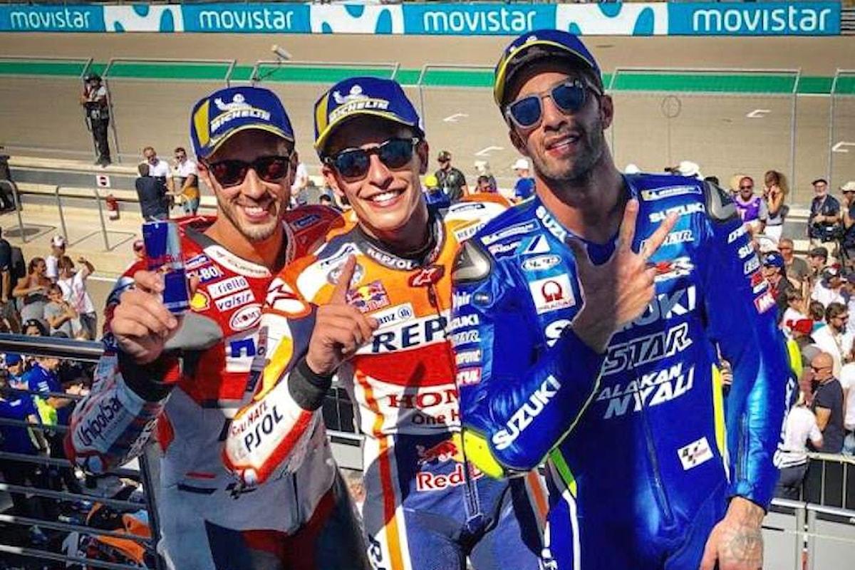 MotoGP, ad Aragon Marquez la spunta su Dovizioso e ipoteca il mondiale 2018
