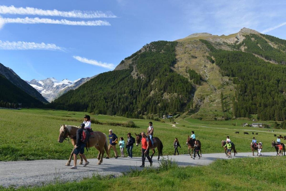 W il Parco, la Festa del cavallo e della mobilità sostenibile di Cogne