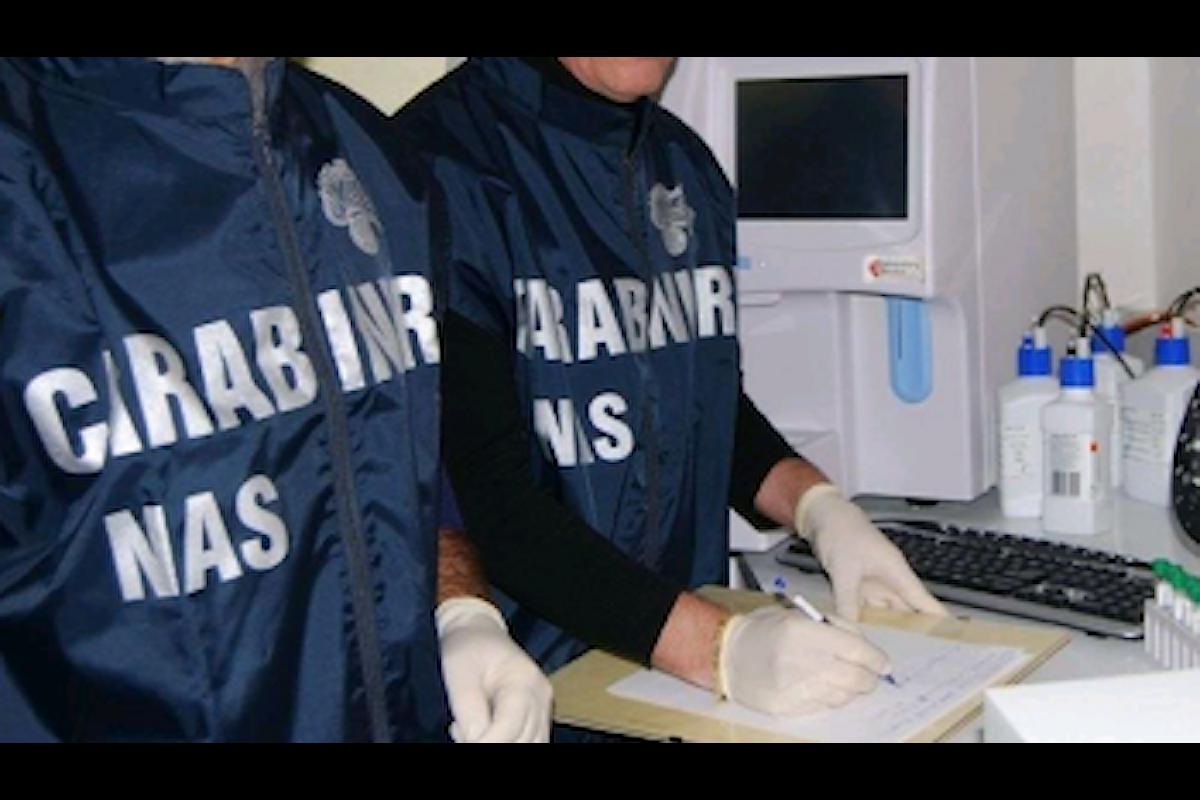Alimenti non tracciati, sequestri dei Nas nel salernitano
